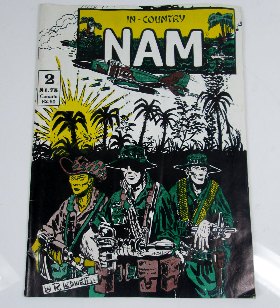 In Country Nam #2 Comic Book (1986)