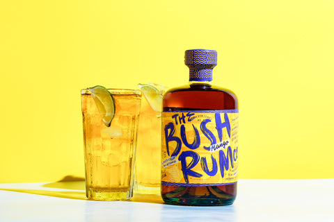 Bush Rum and Ginger Ale