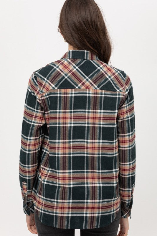 Load image into Gallery viewer, Lorri Plaid Top