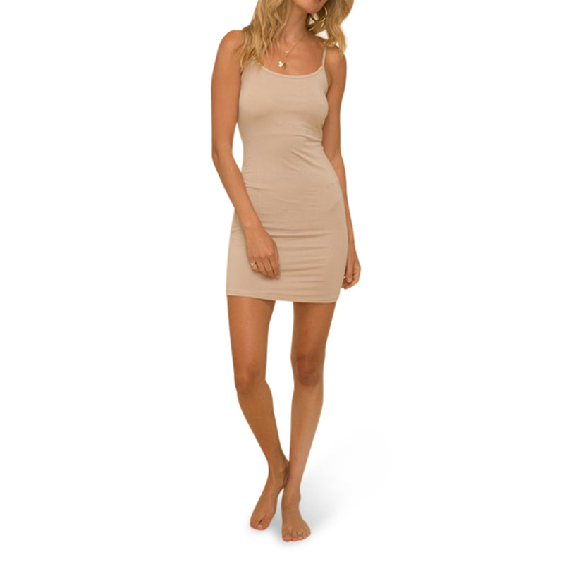 Taupe Slip Dress
