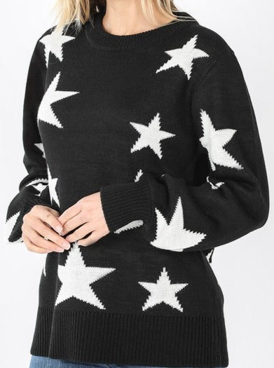 Load image into Gallery viewer, Ashton Star Sweater