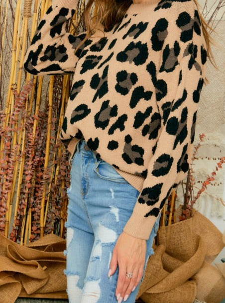 Load image into Gallery viewer, Ansley Leopard Sweater