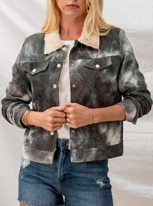 Load image into Gallery viewer, Hannah Tie Dye Jacket