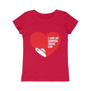 Girls I Love My Carnival Cruise Line Tee - Boat (9 colors)