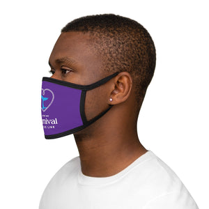 Unisex Face Mask - Blue Whale