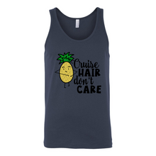 Load image into Gallery viewer, Unisex Tank - Cruise Hair don't Care