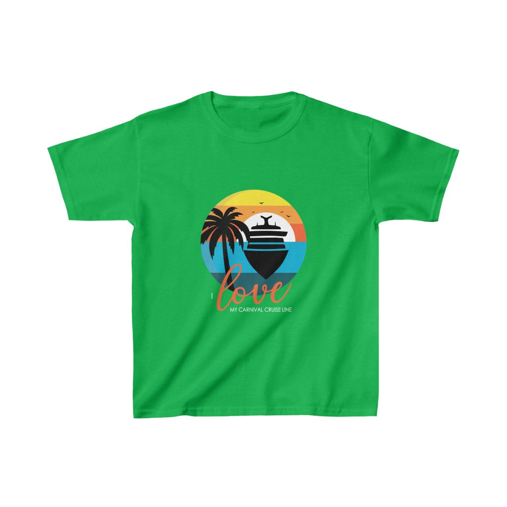 Kids Tee - Ship Sunset