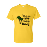 Gildan Unisex Tee - Nobody Likes a Shady Beach- Sizes up to 5XL