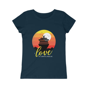 Girls I Love My Carnival Cruise Line Tee - Boat (8 colors)