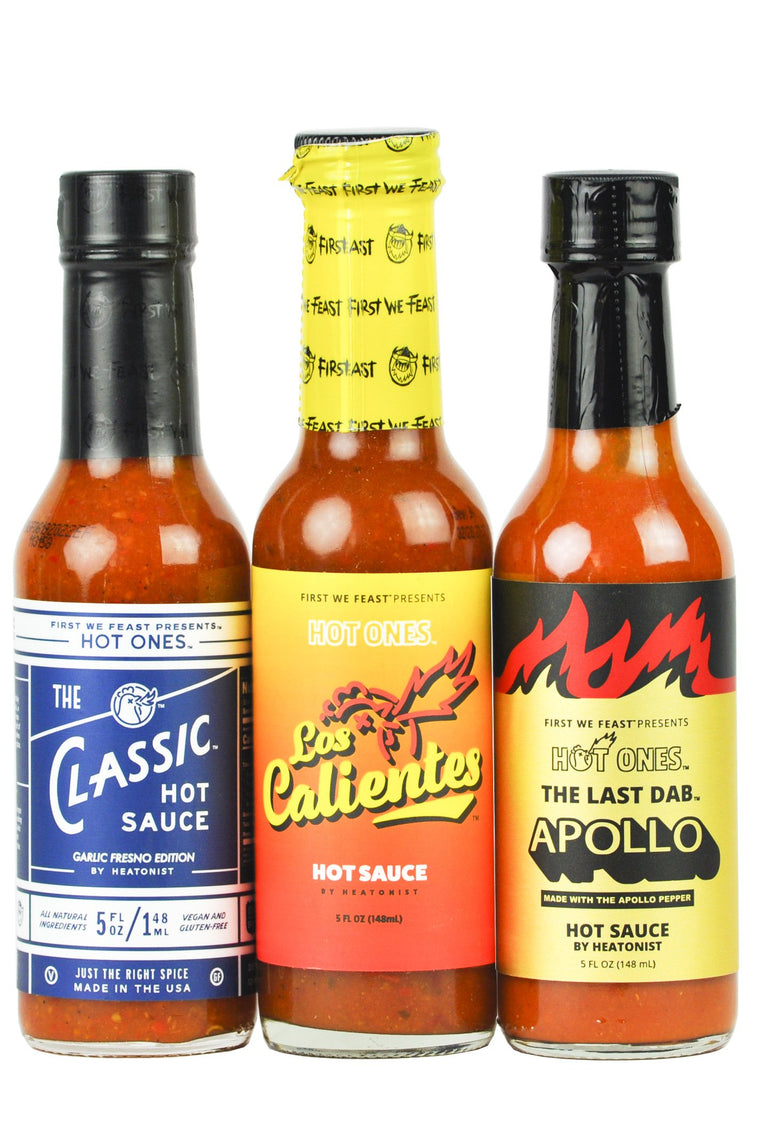 Season 13 Hot Ones Trio Pack