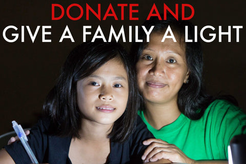DONATE TO GIVE LIGHT TO A FAMILY IN NEED