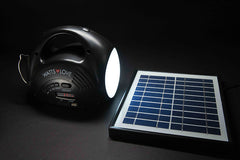 MP3/RADIO SOLAR LANTERN WITH PHONE CHARGER