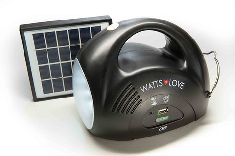 SOLAR LANTERN WITH USB CHARGER