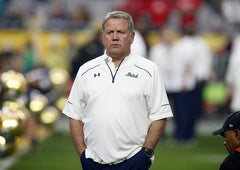 Brian Kelly - Notre Dame Head Football Coach