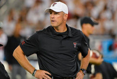 Matt Wells -Texas Tech Football Head Coach
