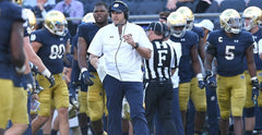 Mike Elston - Notre Dame Football Line Coach