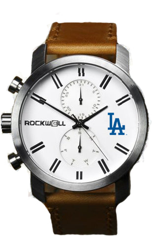 Los Angeles Dodgers Apollo with Brown leather bands