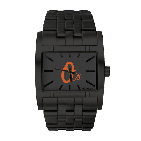 Baltimore Orioles Rockwell Apostle Watch - Stainless Steel Black