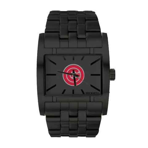 Chicago Cubs Rockwell Apostle Watch - Stainless Steel Black