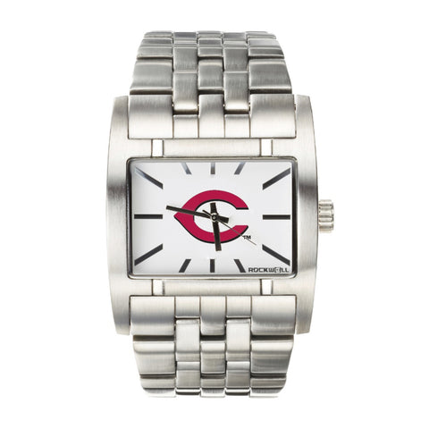 Cincinnati Reds Rockwell Apostle Watch - Stainless Steel Silver