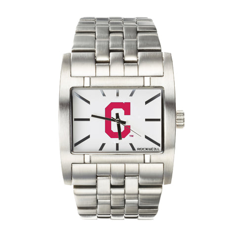 Cleveland Indians Rockwell Apostle Watch - Stainless Steel Silver