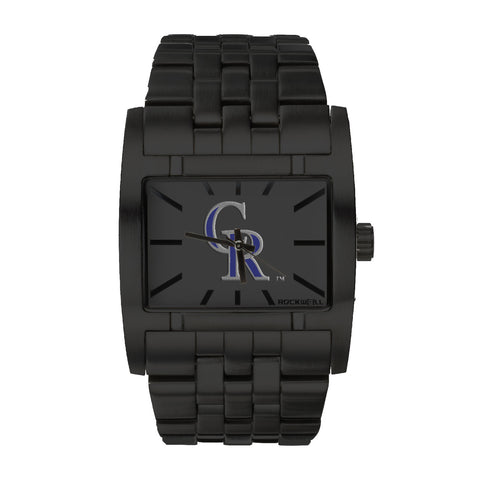 Colorado Rockwell Apostle Watch - Stainless Steel Black
