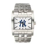 New York Yankees Rockwell Apostle Watch - Stainless Steel Silver