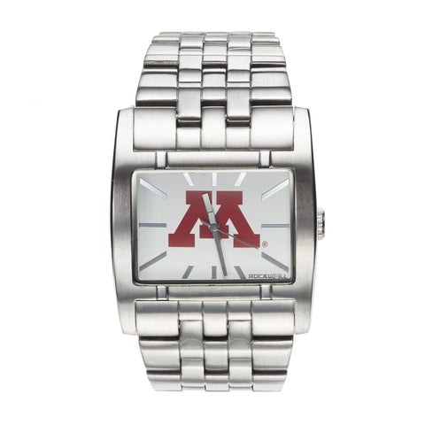 Minnesota Golden Gophers Rockwell Apostle Watch - Stainless Steel