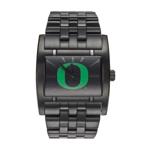 Oregon Ducks Rockwell Apostle Watch - Black Stainless Steel
