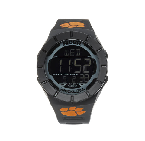 Clemson Tigers Rockwell Coliseum Digital Sport Watch - Black