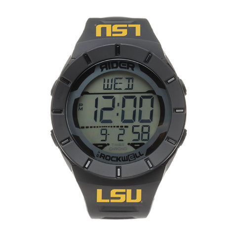 LSU Tigers Rockwell Coliseum Digital Sport Watch - Black
