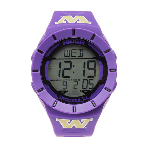 Washington Huskies Rockwell Coliseum Digital Sport Watch - Purple