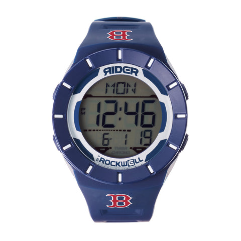 Boston Red Sox Navy Coliseum Watch