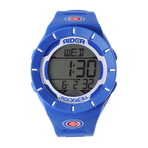 Chicago Cubs Rockwell Coliseum Digital Sport Watch - Blue