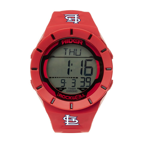 St. Louis Cardinals Rockwell Coliseum Digital Sport Watch - Red