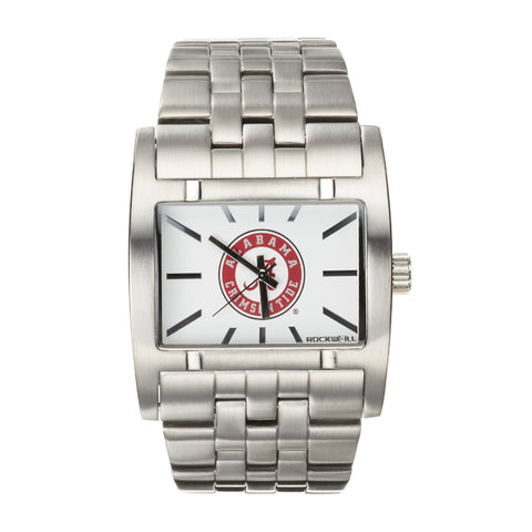 Alabama Crimson Tide Rockwell Apostle Watch - Stainless Steel