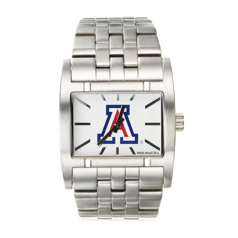Arizona Wildcats Rockwell Apostle Watch - Stainless Steel