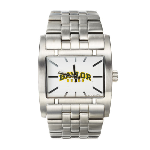 Baylor Bears Rockwell Apostle Watch - Stainless Steel