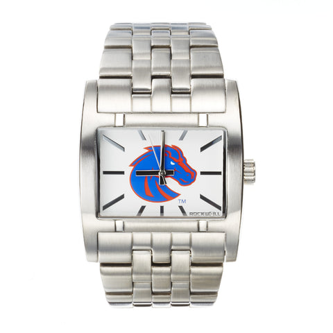 Boise State Broncos Rockwell Apostle Watch - Stainless Steel