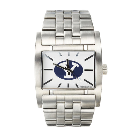 BYU Cougars Rockwell Apostle Watch - Stainless Steel