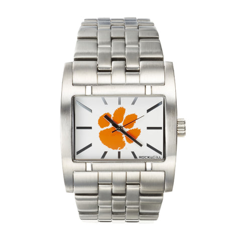 Clemson Tigers Rockwell Apostle Watch - Stainless Steel