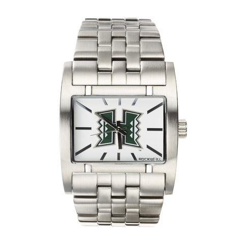 Hawaii Warriors Rockwell Apostle Watch - Stainless Steel