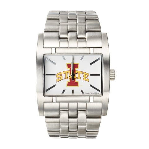 Iowa State Cyclones Rockwell Apostle Watch - Stainless Steel