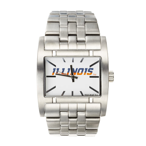 Illinois Fighting Illini Rockwell Apostle Watch - Stainless Steel
