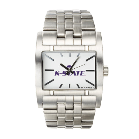 Kansas State Wildcats Rockwell Apostle Watch - Stainless Steel