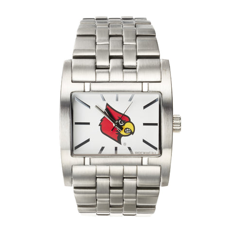 Louisville Cardinals Rockwell Apostle Watch - Stainless Steel