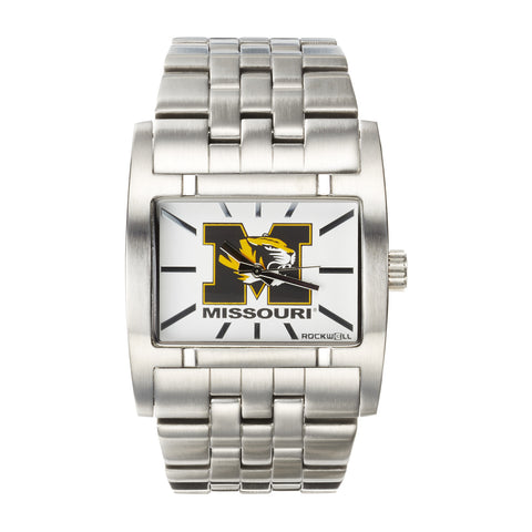 Missouri Tigers Rockwell Apostle Watch - Stainless Steel