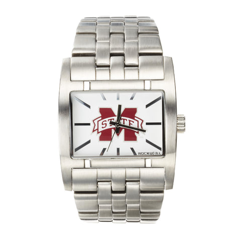 Mississippi State Bulldogs Rockwell Apostle Watch - Stainless Steel