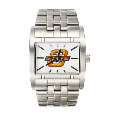 Oklahoma State Cowboys Rockwell Apostle Watch - Stainless Steel
