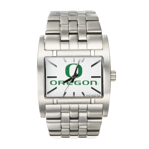 Oregon Ducks Rockwell Apostle Watch - Stainless Steel